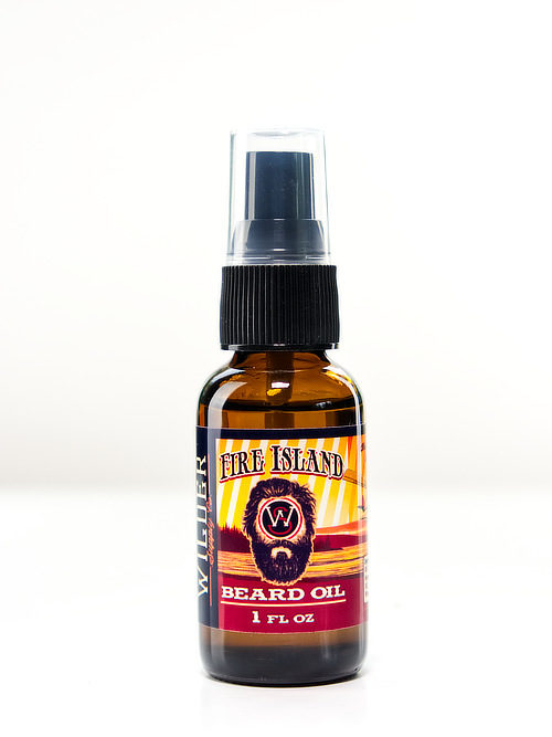 Fire Island beard oil