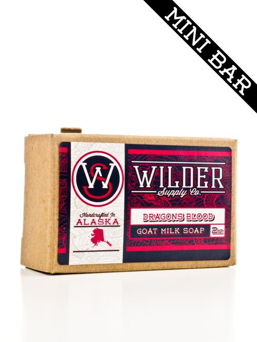 Mini Bar - Dragon's Blood Goat Milk Soap | Wilder Supply Co.