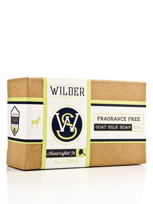 Wilder Supply | Fragrance Free Goat Milk Soap