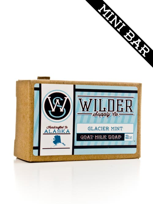 Mini Bar - Glacier Mint Goat Milk Soap | Wilder Supply