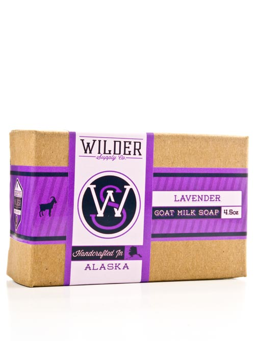 Relax in the floral burst of lavender goat milk soap