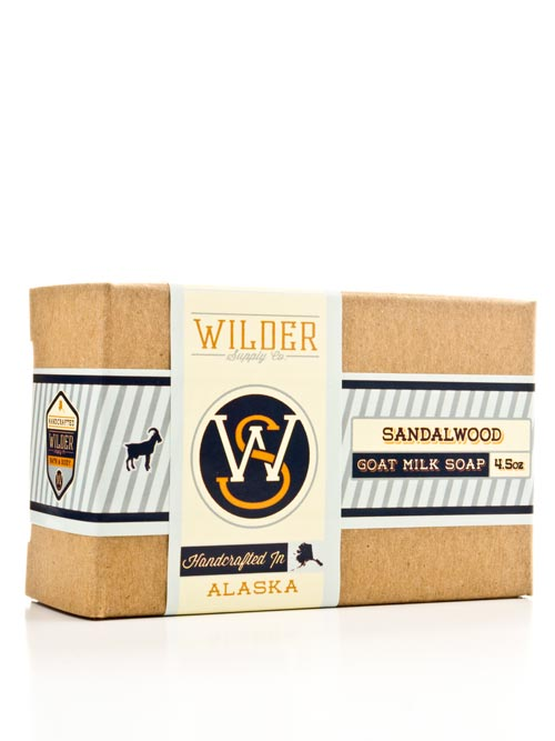 Sandalwood Goat Milk Soap | Wilder Supply