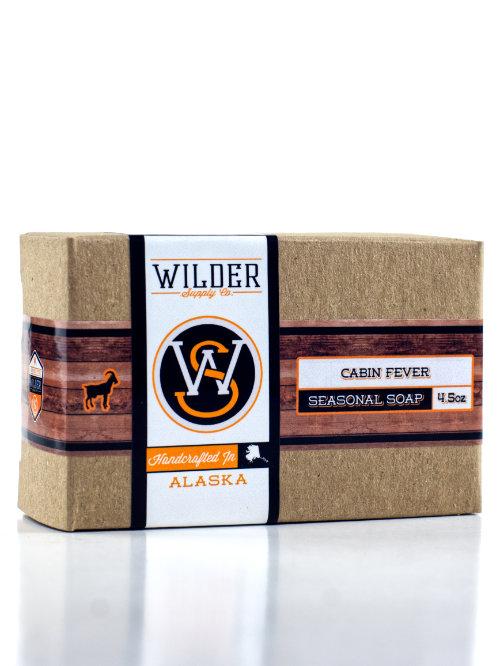 cabin fever goat milk soap